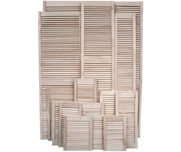 Collection of Pine Louvre Doors