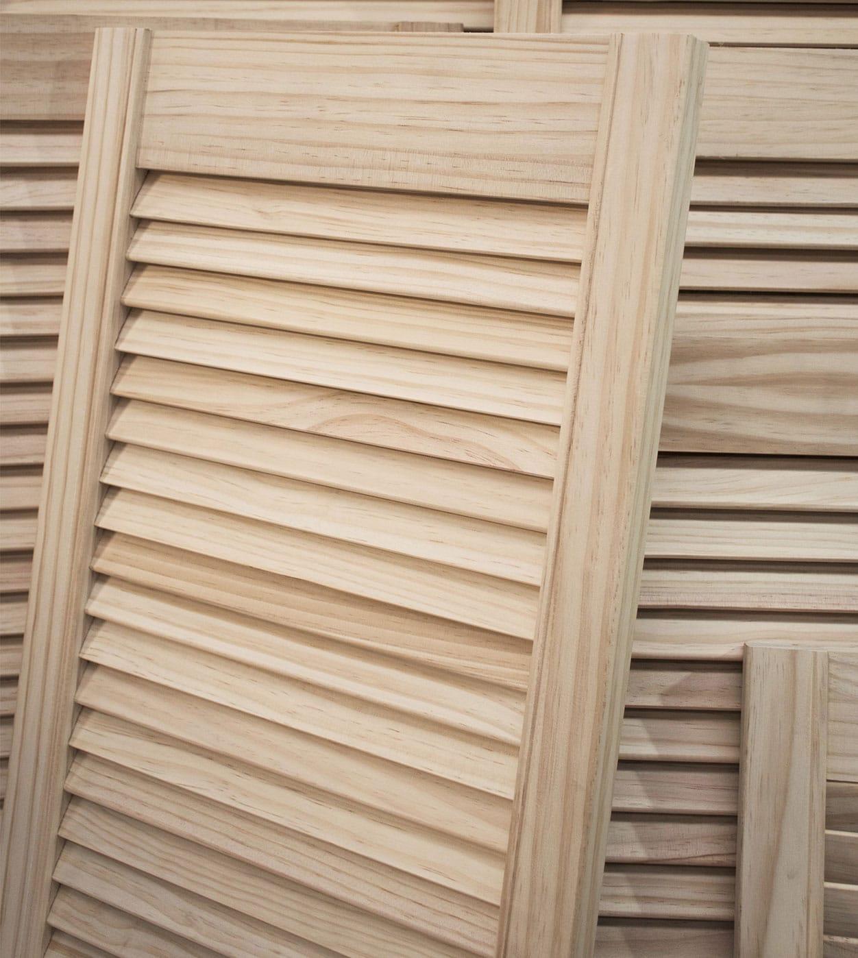 Pine Louvre Doors Shawfield Doors